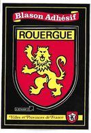 ROUERGUE - BLASON ADHESIF - Villes Et Provinces De France - France