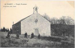 Le Mazet , Temple Protestant - France