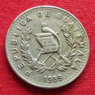 Guatemala 25 Centavos 1989 KM# 278.5 - Guatemala