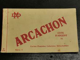 Carnet, Carte Postales Arcachon - Arcachon