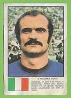 Italia - Cromo Sandro Mazzola - Squadra Azzurra - Chrome - Calcio - Stadio - Football - Futebol - Stadium Estadio Stade - Sports
