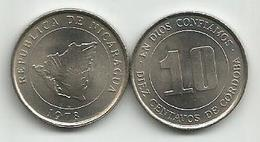 Nicaragua 10 Centavos 1978.   KM#31 High Grade - Nicaragua