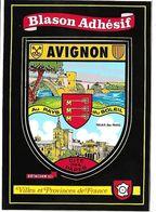 AVIGNON - BLASON ADHESIF - Villes Et Provinces De France - Avignon