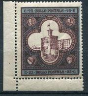 Repubblica Di San Marino - 1894 - Palazzo Del Governo - 25 Cent. ** - Saint-Marin