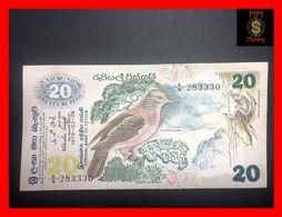 Ceylon - Sri Lanka  20 Rupees  26.3.1979  P. 86  VF++ - Sri Lanka