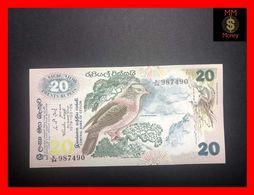 Ceylon - Sri Lanka  20 Rupees  26.3.1979  P. 86  AU - Sri Lanka