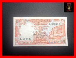 Ceylon - Sri Lanka  5 Rupees  1.1.1982  P. 91  UNC - - Sri Lanka