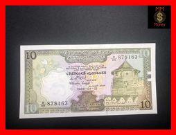 Ceylon - Sri Lanka  10 Rupees  1.1.1985  P. 92  AU - Sri Lanka