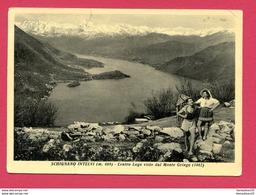 CP (Réf : X975) Saluti Da SCHIGNANO INTELVI (ITALIE) Centro Lago Visto Dal Monte Gringo (animée) - Como