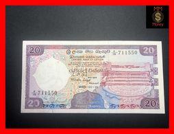 Ceylon - Sri Lanka  20 Rupees  1.1.1985  P. 93  XF \ AU - Sri Lanka