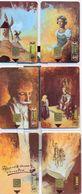 Spain CP-101, Cervantes - Don Quijote De La Mancha 6 Chip Phonecards, PUZZLE, #cp-101 - Puzzles