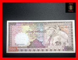 Ceylon - Sri Lanka  500 Rupees  1.1.1987  P. 100   XF+ - Sri Lanka