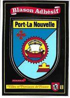 PORT LA NOUVELLE - BLASON ADHESIF - Villes Et Provinces De France - Port La Nouvelle