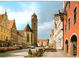 DE-BY: DONAUWÖRTH: Blick In Die Obere Reichsstrasse - Automobiles - Donauwoerth