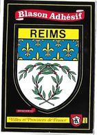REIMS - BLASON ADHESIF - Villes Et Provinces De France - Reims