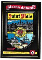 SAINT MALO - BLASON ADHESIF - Villes Et Provinces De France - Saint Malo