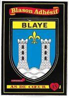 BLAYE - BLASON ADHESIF - As De Coeur - Blaye