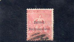 BECHUANALAND 1886-9 O - Bechuanaland (...-1966)