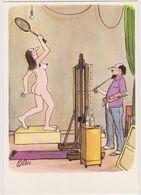 TETSU  Ed Autocarte - Humour Peintre Et Son Modele Femme Nue Tennis - CPM 10,5x15 TBE Neuve - Autres Illustrateurs