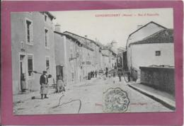 55.- GONDRECOURT .- Rue D' Abainville - Gondrecourt Le Chateau