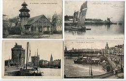 10 CP LA ROCHELLE Chalet Parc Bateau Pêche Entrée Port Quai Duperré Passerelle Maubec Bassin Séchage Filets Horloge Lant - La Rochelle