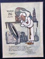 CHEVREUL Centenaire Honoraire Par J. HÉMARD - Calendriers