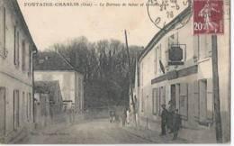 Fontaine-chaalis - Le Bureau De Tabac Et Grande Rue - France