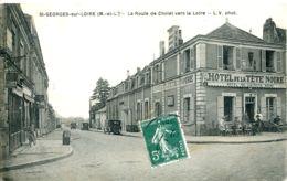 N°1441 R -cpa  St Georges Sur Loire -la Route De Cholet Vers La Loire- - France