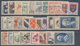 1953  Année Complète 28 Tp Neuf Luxe ** 1953 - ....-1939