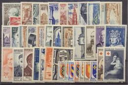 1954  Année Complète 40 Tp Neuf Luxe ** 1954 - ....-1939