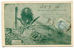 Pionnière EGYPTE * Heureux Souvenir De La Mémoire De Ferdinand De LESSEPS * Assez Rare - Egypt