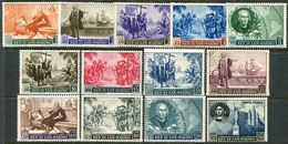 San Marino 1952. Michel #464/76 VF/MNH. Christopher Columbus' 500th Birthday. Ships. America (Ts21) - Saint-Marin