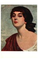 Lapina 1248 - G Hervé, Pensive (3 Lignes) - Pittura & Quadri