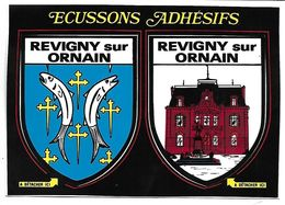REVIGNY SUR ORNAIN - ECUSSONS ADHESIFS - Revigny Sur Ornain