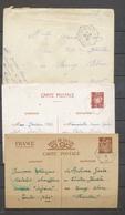 1941-42 3 Lettres/entiers Obl CROISEUR ALGERIE Superbe X1451 - Marcophilie (Lettres)