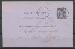 1879 CP Sage Convoyeur Station BAIS-LIL ASCQ NORD(57) Sup X2594 - 1801-1848: Precursores XIX