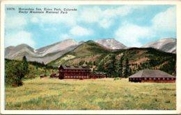Colorado Rocky Mountain National Park Estes Park Horseshoe Inn 1931 - Rocky Mountains