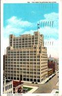 Colorado Denver New Telephone Building 1933 Curteich - Denver