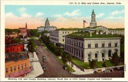 Colorado Denver United States Mint And Colfax Avenue - Denver