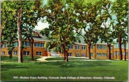 Colorado Greeley Student Union Building Colorado State College Of Education - Etats-Unis