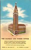Colorado Denver The Daniels And Fisher Department Store Tower - Denver