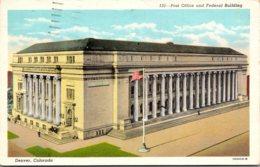 Colorado Denver Post Office And Federal Building 1943 - Denver