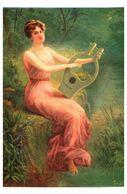 Lapina 1369 - Du Thoit, Avant Le Soir (6 Lignes) Femme - Pittura & Quadri