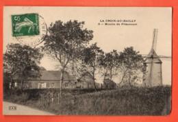 ZAR-10  Saint-Quentin-la-Motte-Croix-au-Bailly , Moulin De Friaucourt. Circulé, Cachet Frontal. - Autres Communes