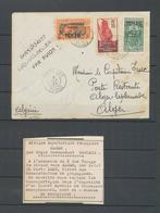 1935 Env. AEF/ALGER Par DAGNAUX, 3 Timbres Tchad, Griffe Spéciale, SUP X4863 - Collections