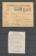 1934 Env. GUYANE/PARIS Par La PANAIR, 13.2.34, Superbe X4865 - France (ex-colonies & Protectorats)