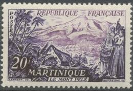 Série Touristique. Le Mont Pelé, Martinique. 20f. Violet Et Lilas. Neuf Luxe ** Y1041 - Unused Stamps
