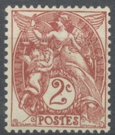 Type Blanc. 2c. Brun-lilas (IB) Neuf Luxe ** Y108 - Unused Stamps