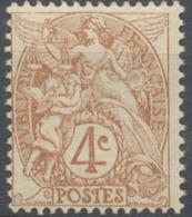 Type Blanc. 4c. Brun-jaune(I) Neuf Luxe ** Y110 - Ungebraucht
