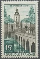 Le Quesnoy. Remparts, Lac Vauban Et Porte Fortifiée De Fauroeulx. 15f. Sépia Et Vert-bleu. Neuf Luxe ** Y1106 - Nuevos